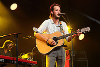 Marlon Williams performs at the Cambridge Folk Festival 2018, Cherry Hinton Hall, Cambridge, England, UK on 3rd and 4th August 2018.<br /> CAP/ROS<br /> &copy;ROS/Capital Pictures