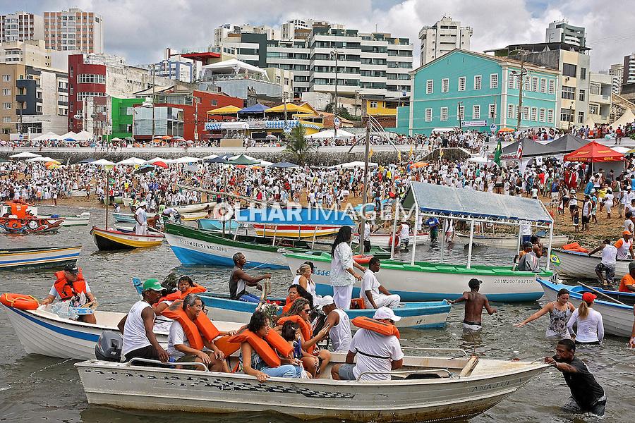 Festa de Iemanja em Rio Vermelho. Salvador. Bahia. 2014. Foto de Euler Paixão.