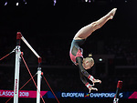 European Championships Glasgow 5th August 2018.  Apparatus Finals Seniors
