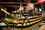 51 years to complete model of HMS Victory