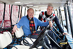 GROESBEEK - <br /> Golfpro Stephan de Ruijter<br /> Jan-Erik Rozendaal fysio . COMMITTED TO SENIOREN op Rijk van Nijmegen . FOTO KOEN SUYK.