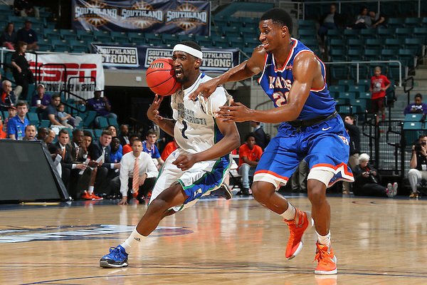 KATY, TX - MARCH 11: A&M Corpus Christi v Sam Houston at Merrell Center in Katy on March 11, 2016 in Katy, Texas.(Photo Rick Yeatts)