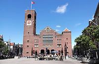 Nederland - Amsterdam - 2019.  De Beurs van Berlage.  Foto Berlinda van Dam / Hollandse Hoogte