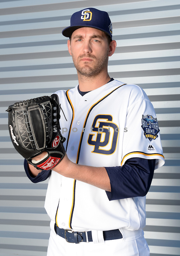 San Diego Padres Johnny Hellweg (66) during photo day on February 26, 2016 in Peoria, AZ.