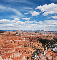 Hoodoo rock formations of the Amphitheater, Bryce Canyon national park, Utah, USA