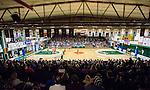 S&ouml;dert&auml;lje 2015-02-07 Basket Basketligan S&ouml;dert&auml;lje Kings - Bor&aring;s Basket :  <br /> Vy &ouml;ver T&auml;ljehallen med publik p&aring; l&auml;ktarna under matchen mellan S&ouml;dert&auml;lje Kings och Bor&aring;s Basket <br /> (Foto: Kenta J&ouml;nsson) Nyckelord:  S&ouml;dert&auml;lje Kings SBBK T&auml;ljehallen Bor&aring;s Basket inomhus interi&ouml;r interior supporter fans publik supporters