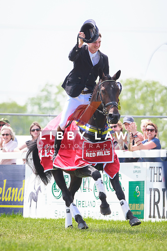 GBR-Tom Jackson (DUSTY) FINAL-1ST: CONNOLLY'S RED MILLS CCI2*U24 PRIZEGIVING: 2016 IRL-Tattersalls International Horse Trial (Sunday 5 June) CREDIT: Libby Law COPYRIGHT: LIBBY LAW PHOTOGRAPHY