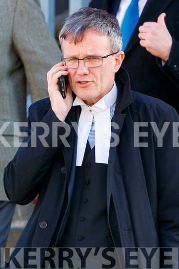 Eoin Clifford SC at Tralee Court on Wednesday.