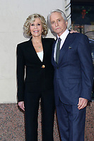 LOS ANGELES - NOV 6:  Jane Fonda, Michael Douglas at the Michael Douglas Star Ceremony on the Hollywood Walk of Fame on November 6, 2018 in Los Angeles, CA