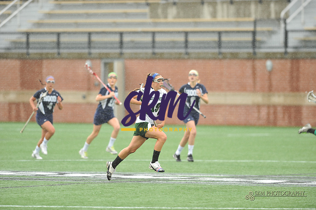 Women's lacrosse bounces back after loss to Salisbury with a 16-4 win over the Hood Blazers Wednesday at Mustang Stadium.Women's lacrosse bounces back after loss to Salisbury with a 16-4 win over the Hood Blazers Wednesday at Mustang Stadium.