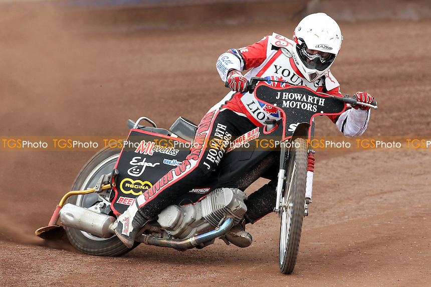 Kyle Howarth (1) rides during British Under-21 Speedway Championship Practice at Arena Essex Raceway, Purfleet -  16/04/10 - MANDATORY CREDIT: Gavin Ellis/TGSPHOTO - Self billing applies where appropriate - Tel: 0845 094 6026