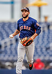 27 February 2019: Houston Astros infielder Abraham Toro in action against the Washington Nationals at the Ballpark of the Palm Beaches in West Palm Beach, Florida. The Nationals defeated the Astros 14-8 in their Spring Training Grapefruit League matchup. Mandatory Credit: Ed Wolfstein Photo *** RAW (NEF) Image File Available ***