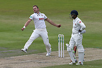 Neil Wagner in bowling action for Essex during Lancashire CCC vs Essex CCC, Specsavers County Championship Division 1 Cricket at Emirates Old Trafford on 9th June 2018