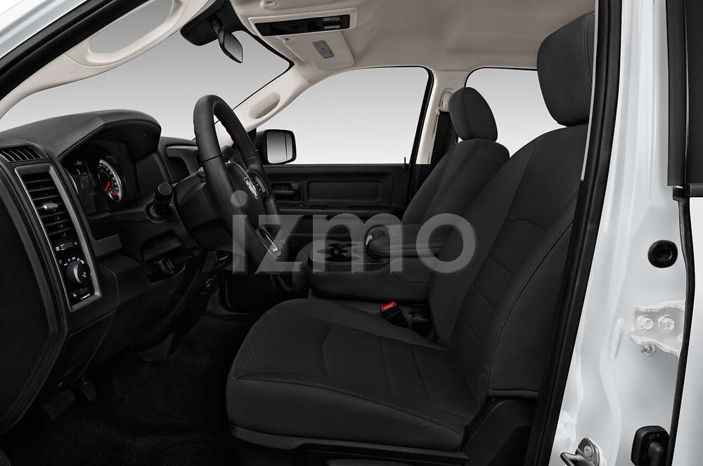 Front seat view of a 2018 Ram Ram 2500 Pickup Tradesman 4wd Crew Cab LWB 4 Door Pick Up front seat car photos