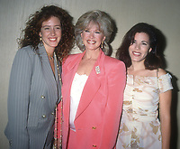 Joley Fisher Connie Stevens Tricia Lee Fisher<br /> 1993<br /> Photo By Michael Ferguson/CelebrityArchaeology.com