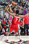 06.09.2014. Barcelona, Spain. 2014 FIBA Basketball World Cup, round of 16. Picture show A. Davis and J. Gutierrez   in action during game between  Mexico v Usa  at Palau St. Jordi