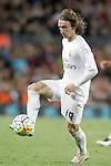 Real Madrid's Luka Modric during La Liga match. April 2,2016. (ALTERPHOTOS/Acero)