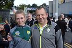 17-1-2017: Jerome and Amy O'Sullivan, Kerry at the All-Ireland Football final at Croke Park on Sunday.<br /> Photo: Don MacMonagle