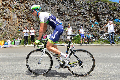 22.07.2014. Carcassonne to Bagnères-de-Luchon, France. Tour de France cycling championship, stage 16.   KEUKELEIRE Jens (BEL - ORICA GreenEDGE)