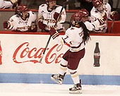 Kristyn Capizzano (BC - 7) - The Boston College Eagles defeated the Northeastern University Huskies 2-1 to win the Beanpot on Monday, February 7, 2017, at Matthews Arena in Boston, Massachusetts.