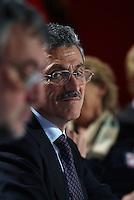 Roma, 4 Febbraio 2005..Terzo congresso dei DSMassimo D'Alema ha deciso di seguire l'esempio di Veltroni nel non ricandidarsi alle prossime elezioni.