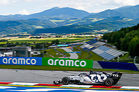 12th July 2020; Styria, Austria; FIA Formula One World Championship 2020, Grand Prix of Styria race day; FIA Formula One World Championship 2020, Grand Prix of Styria,  26 Daniil Kvyat RUS, Scuderia AlphaTauri Honda