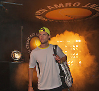 10-02-14, Netherlands,Rotterdam,Ahoy, ABNAMROWTT,, , Andreas Seppi(ITA)<br /> Photo:Tennisimages/Henk Koster