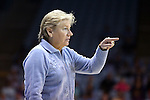 30 December 2014: UNC head coach Sylvia Hatchell. The University of North Carolina Tar Heels hosted the University at Albany Great Danes at Carmichael Arena in Chapel Hill, North Carolina in a 2014-15 NCAA Division I Women's Basketball game. UNC won the game 71-56.