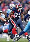 24 December 2006: Buffalo Bills running back Willis McGahee (21) in action against the Tennessee Titans at Ralph Wilson Stadium in Orchard Park, New York. The Titans edged out the Bills 30-29.&amp;#xA; &amp;#xA;Mandatory Photo Credit: Ed Wolfstein Photo<br />