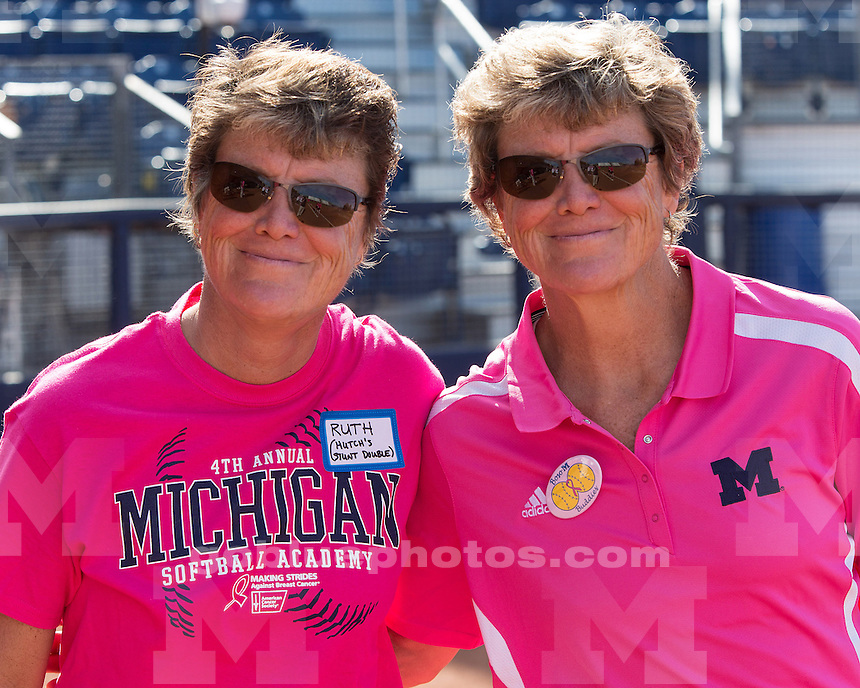 The Michigan Womens Softball Academy at Alumni Field (Wilpon Complex) in Ann Arbor, Mich., on May 2, 2013.