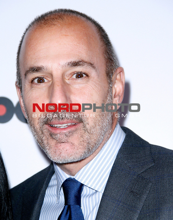 Matt Lauer attends the 2013 Billboard Women in Music Luncheon at Capitale in New York City, New York on December 10, 2013.   <br /> Foto &copy;  nph / Pixsell <br /> ***** Attention only in GER *****