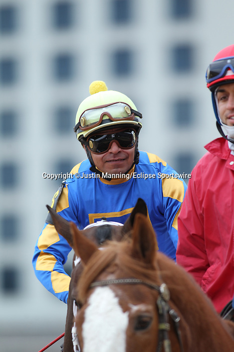 January 24, 2020: Gold Street with jockey Martin Garcia aboard before the Smarty Jones Stakes at Oaklawn Racing Casino Resort in Hot Springs, Arkansas on January 24, 2020. Justin Manning/Eclipse Sportswire/CSM