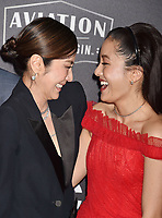 BEVERLY HILLS, CA - NOVEMBER 04: Michelle Yeoh, Constance Wu arrives at the 22nd Annual Hollywood Film Awards at the Beverly Hilton Hotel on November 4, 2018 in Beverly Hills, California.<br /> CAP/ROT/TM<br /> &copy;TM/ROT/Capital Pictures