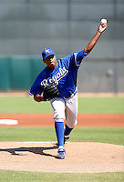Ivor Hodgson / Kansas City Royals 2008 Instructional League..Photo by:  Bill Mitchell/Four Seam Images