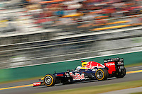 ATENCAO EDITOR - IMAGEM EMBARGADA PARA VEICULOS INTERNACIONAIS - <br /> YEONGAM, COREIA DO SUL, 14 OUTUBRO 2012 - F1 - GP DA COREIA DO SUL - O piloto alemao Sebastian Vettel da equipe Red Bull durante o GP da Coreia do Sul, neste domingo, 14. (FOTO: PIXATHLON / BRAZIL PHOTO PRESS).