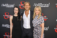 Jena Malone, Matt Barr and Lindsay Pulsipher at the Los Angeles premiere of 'Hatfields & McCoys' at Milk Studios on May 21, 2012 in Los Angeles, California. © mpi35/MediaPunch Inc.