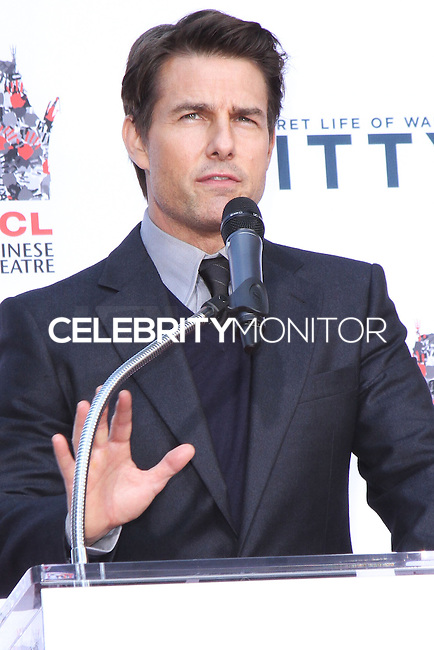 HOLLYWOOD, CA - DECEMBER 03: Tom Cruise attending the Ben Stiller Hand/Footprint Ceremony held at TCL Chinese Theatre on December 3, 2013 in Hollywood, California. (Photo by David Acosta/Celebrity Monitor)