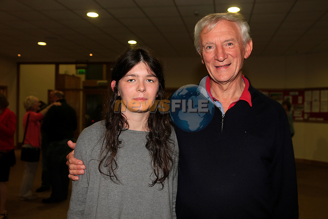 Rebecca Crudden and John Woodside at Drogheda Presbyterian Church<br /> Picture: www.newsfile.ie
