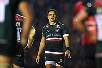 Matt Toomua of Leicester Tigers looks on. European Rugby Champions Cup match, between Leicester Tigers and Munster Rugby on December 17, 2017 at Welford Road in Leicester, England. Photo by: Patrick Khachfe / JMP