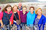 Elena Byrne (Clare) Rose Molyneaux (Listowel and Glenbeigh) Sean Breathnach (Galway) Leah Byrne (Clare) Ailbhe Breathnach (Galway) and Joan Breathnach (Galway) pictured at Glenbeigh races on Sunday last.