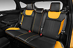 2013 Ford Focus ST Hatchback Rear Seat Stock Photo