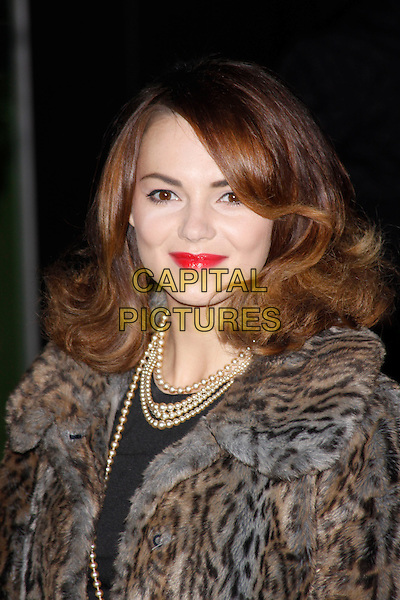 LONDON, ENGLAND - DECEMBER 12 : Kara Tointon attends the English National Ballet Christmas Party at St Martins Lane Hotel on December 12, 2013 in London, England<br /> CAP/AH<br /> &copy;Adam Houghton/Capital Pictures