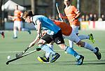 WASSENAAR - Hoofdklasse hockey heren, HGC-Bloemendaal (0-5). Rik van Kan (HGC) ) COPYRIGHT KOEN SUYK