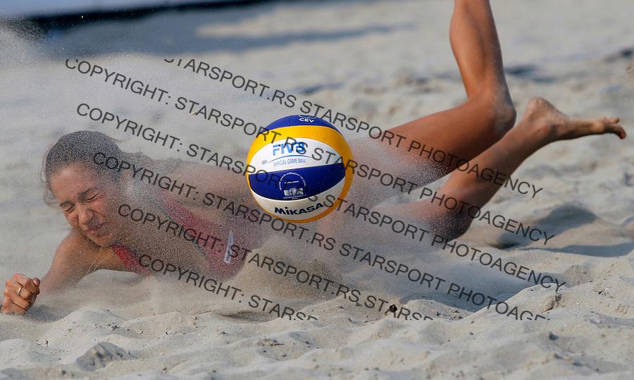 VIP Beachmasters Beach volleyball championship, Belgrade SERBIA - 1/09/2012.