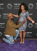 "29 March 2017 - Beverly Hills, California - Rockmond Dunbar, Maya Gilbert. 2017 PaleyLive LA Spring Season - ""Prison Break"" Screening And Conversation held at The Paley Center for Media. Photo Credit: AdMedia"