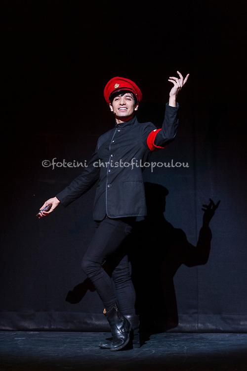 London, UK. 22.11.2017. 'Men in Motion' Ivan Putrov's celebration of the male dancer returns to the London Coliseum, 22-23 Nov 2017. Photo shows: Daniel Proietto. Photo - © Foteini Christofilopoulou.