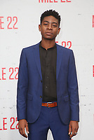 9 August 2018-  Westwood, California - RJ Cyler. Premiere Of STX Films' &quot;Mile 22&quot; held at The Regency Village Theatre. <br /> CAP/MPIFS<br /> &copy;MPIFS/Capital Pictures