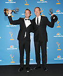 Aaron Paul & Bryan Cranston at The 62nd Anual Primetime Emmy Awards held at Nokia Theatre L.A. Live in Los Angeles, California on August 29,2010                                                                   Copyright 2010  DVS / RockinExposures