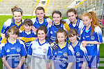 Muire Gan Smal, Presentation Castleisland girls who played in the Cumann na mBunscoil County mini-sevens finals in Fitzgerald Stadium, Killarney on Friday front row: Anna Lynch, Moya Sheehan, Chloe O'Connor, Aoife O'Connor. Back row: Shauna O'Donoghue, Nicole Downey, Labhaoise Walmsley, Roseanne O'Shea, Aine O'Connor and Hannah O'Connor..