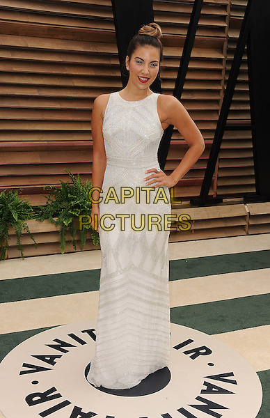 WEST HOLLYWOOD, CA - MARCH 2: Liz Hernandez arrives at the 2014 Vanity Fair Oscar Party in West Hollywood, California on March 2, 2014.<br /> CAP/MPI/MPI213<br /> &copy;MPI213 / MediaPunch/Capital Pictures